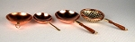 4 pc. Set Copper Miniatures 511