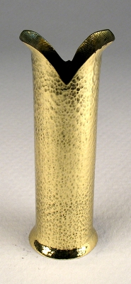 Cane Stand Hammered Brass #4