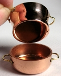 Copper Large Double Boiler with lid 538