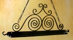 Wrought Iron Hanging Pot Rack 58