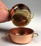 Copper Large Steamer with lid 537
