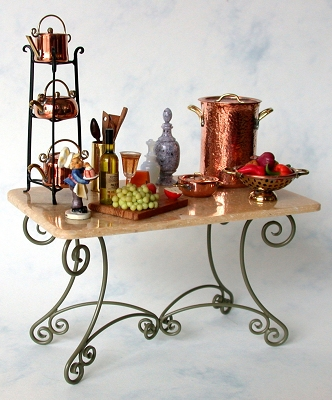 French Dessert Table 100-FDT