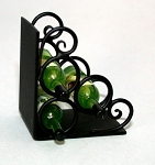 Wrought Iron Wine Rack 116-WR
