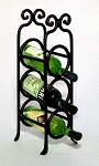 Wrought Iron Wine Rack 117-WR