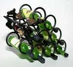Wrought Iron Wine Rack 121-WR