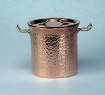 Hammered Copper Medium Pot 507