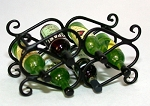 Wrought Iron Wine Rack 118-WR