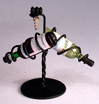 Wrought Iron Wine Rack 124-WRA